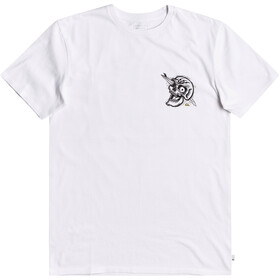 Quiksilver Summer Skull SS Tee Men, white